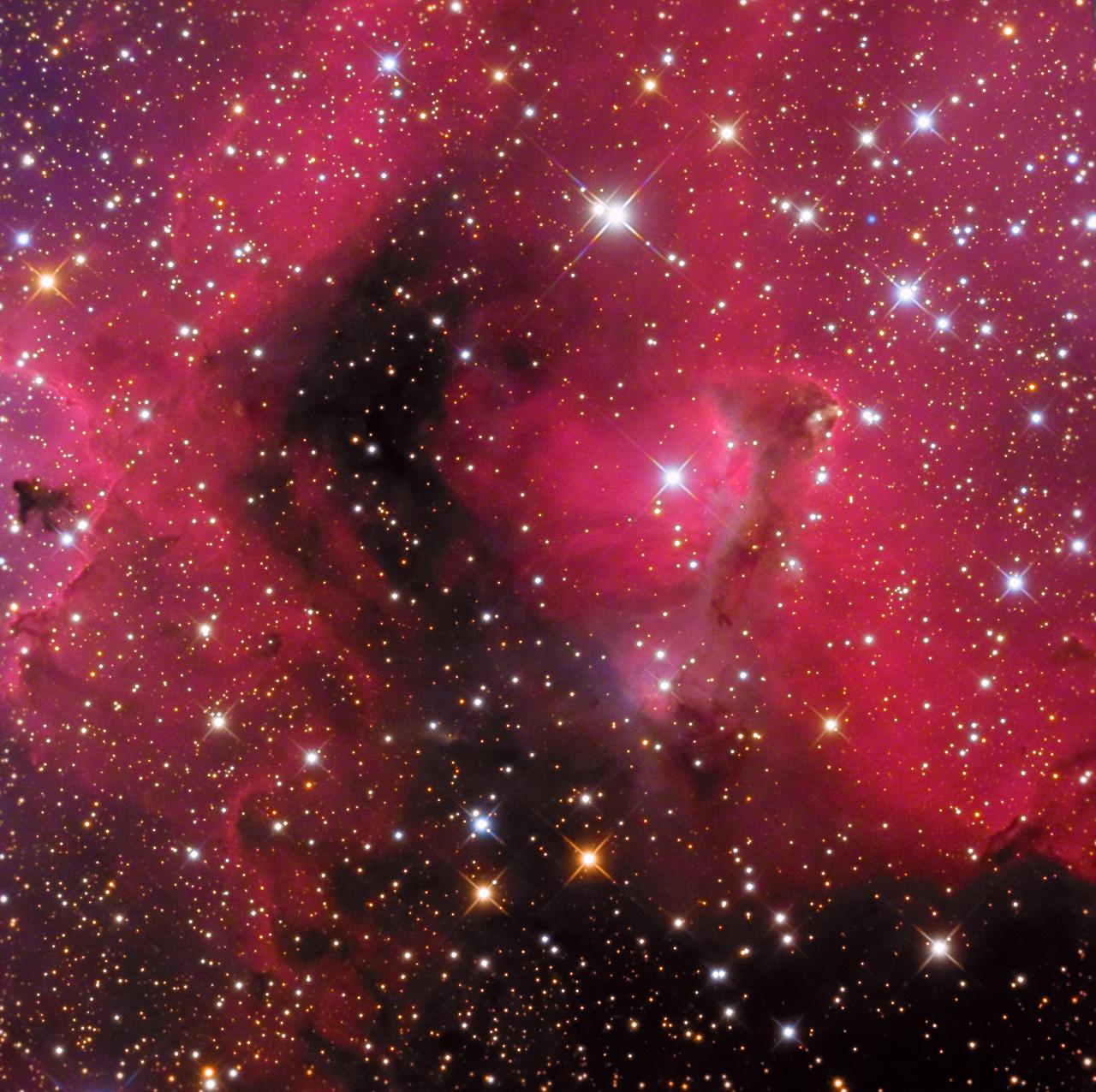 Astrophotography By Leonardo Orazi Photo Gallery Nebulae Ic1871 Emission Nebula