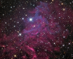 IC405 - Flaming Star Nebula