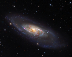 M 106 - Seyfert Type Galaxy
