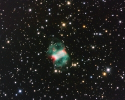 M76 - Little Dumbbell Nebula