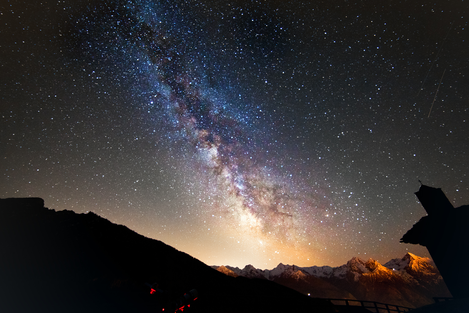 To milky way the photograph how